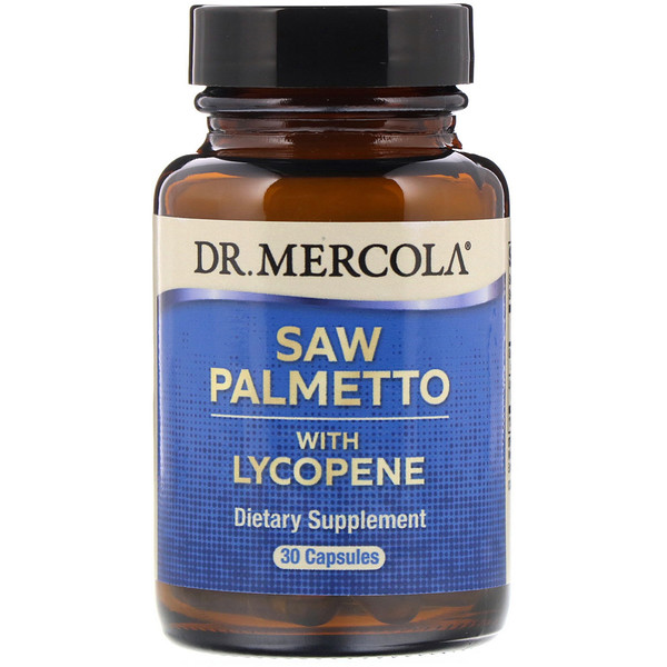 Saw Palmetto with Lycopene, 30 Capsules
