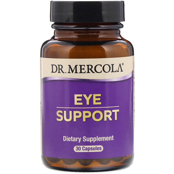 Dr. Mercola, Eye Support, 30 كبسولة