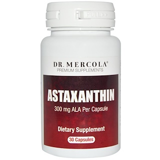 Dr. Mercola, Astaxanthin, 30 Capsules