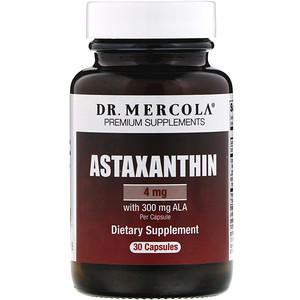 ДР. Меркола, Astaxanthin, 4 mg, 30 Capsules отзывы
