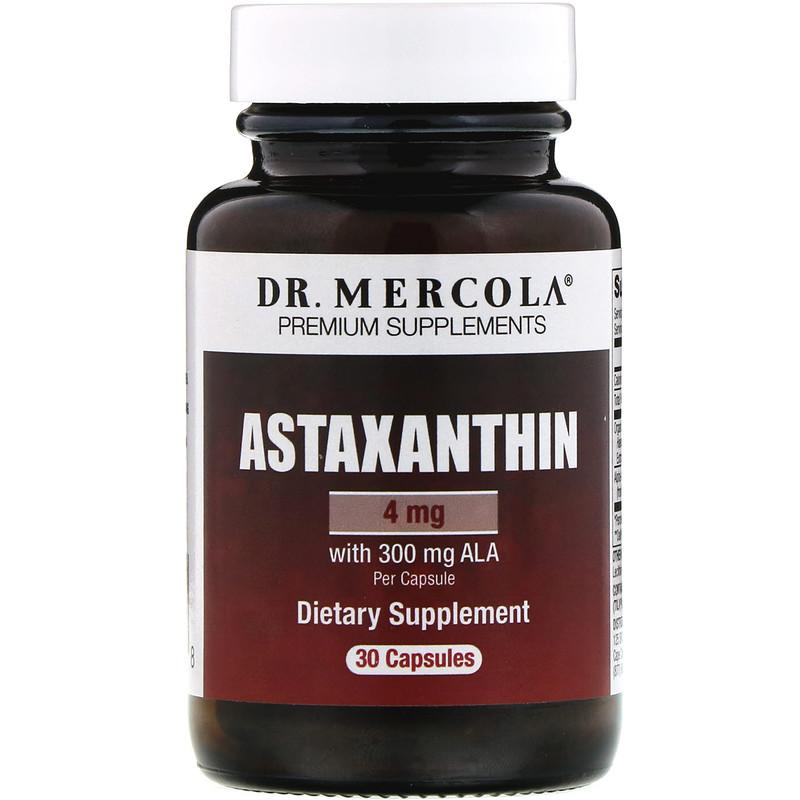 Astaxanthin, 4 mg, 30 Capsules