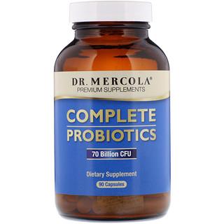 Dr. Mercola, Complete Probiotics, 90 Capsules