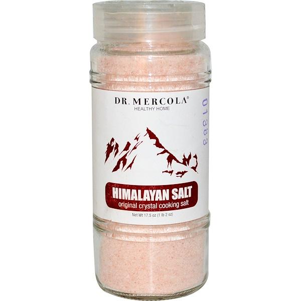Dr. Mercola, Гималайская соль, Оригинальная кулинарная кристаллическая соль, 17,5 унции (Discontinued Item)
