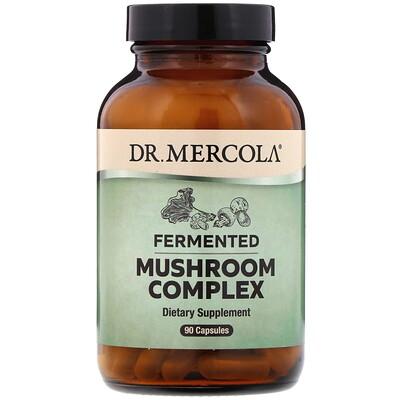 Dr. Mercola Комплекс ферментированных грибов, 90капсул  - купить со скидкой