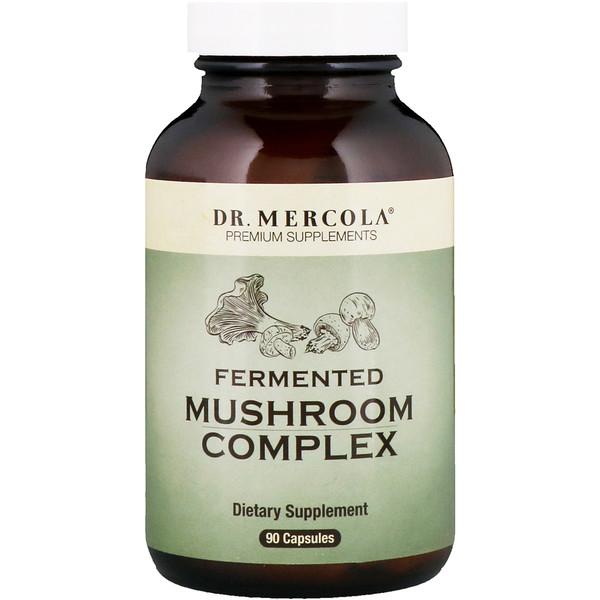 Dr. Mercola, Fermented Mushroom Complex, 90 Capsules