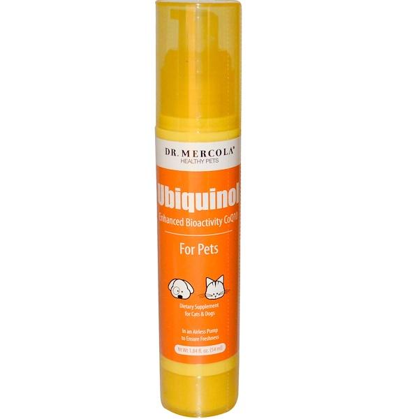 Dr. Mercola, Ubiquinol for Pets, 1.84 fl oz (54 ml)