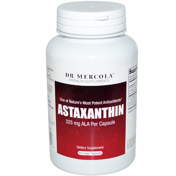 Dr mercola astaxanthin 90 licaps capsules for Fish oil with astaxanthin