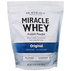 Dr. Mercola, polvo milagroso de proteína de suero, original, 16 oz (454 g)