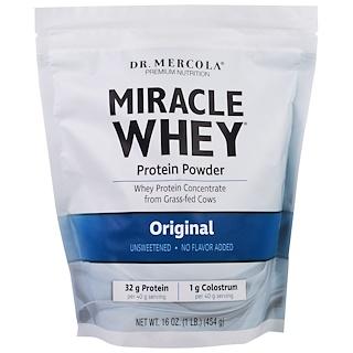 Dr. Mercola, Miracle Whey Protein Powder, Original, 16 oz (454 g)