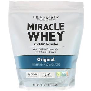 ДР. Меркола, Miracle Whey Protein Powder, Original, 16 oz (454 g) отзывы покупателей