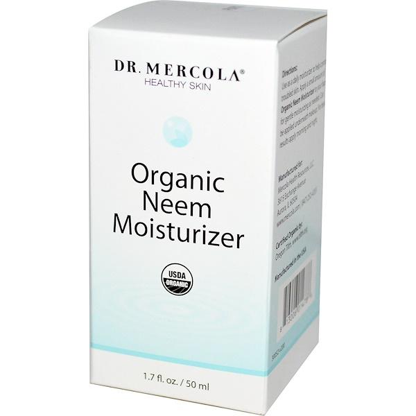 Dr. Mercola, Healthy Skin, Organic Neem Moisturizer, 1.7 fl oz (50 ml) (Discontinued Item)