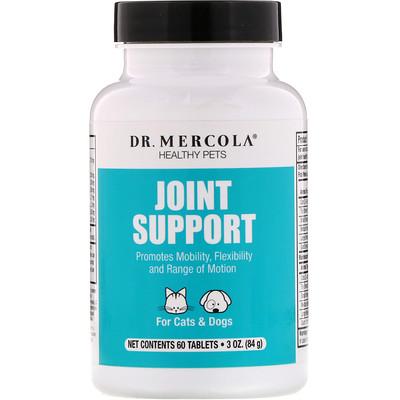 Dr. Mercola Поддержка с BiovaPlex, для домашних животных 60 таблеток
