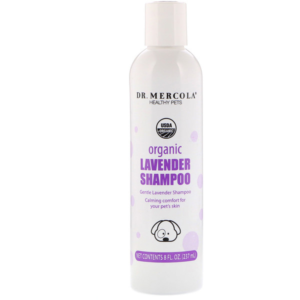 Dr. Mercola, Healthy Pets, Organic Lavender Shampoo for Dogs, 8 fl oz (237 ml)