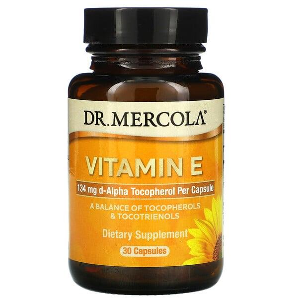 Витамин E, 30 капсул