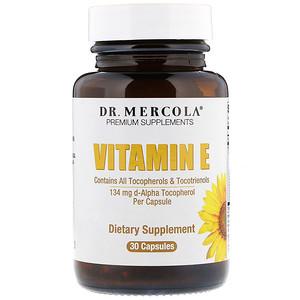 ДР. Меркола, Vitamin E, 30 Capsules отзывы