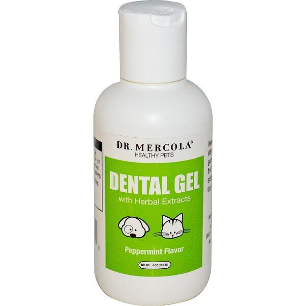 Dr. Mercola, Dental Gel, Peppermint Flavor, 4 oz (113.4 g)