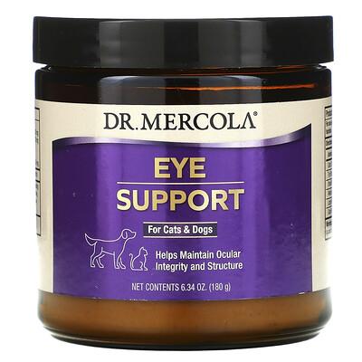 Купить Dr. Mercola Eye Support For Cats & Dogs, 6.34 oz (180 g)