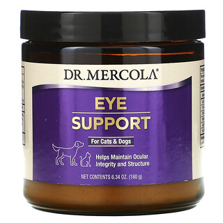 Dr. Mercola, Eye Support For Cats & Dogs, 6.34 oz (180 g)