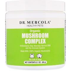 Dr. Mercola, Healthy Pets, Organic Mushroom Complex, For Cats & Dogs, 2.1 oz (60 g)