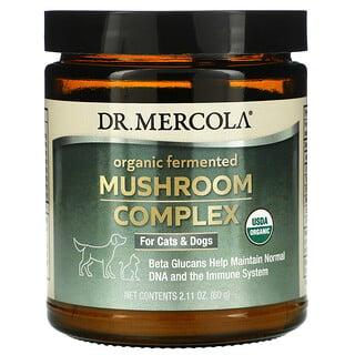 Dr. Mercola, органический ферментированный комплекс с грибами, для кошек и собак, 60г (2,11 унции)