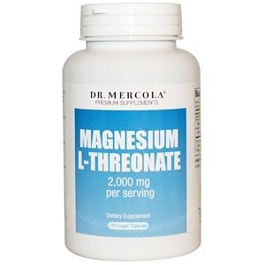 ДР. Меркола, Premium Supplements, Magnesium L-Threonate, 120 Licaps Capsules отзывы