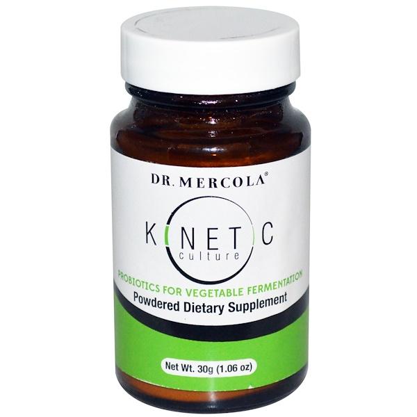 Dr. Mercola, Kinetic Culture, 1.06 oz (30 g) (Discontinued Item)