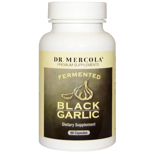 Dr、 Mercola, Fermented Black Garlic, 60 Capsules