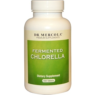 Dr. Mercola, Fermented Chlorella, 450 Tablets