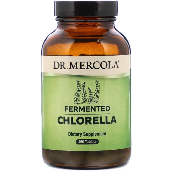Dr. Mercola, כלורלה מותססת, 450 טבליות