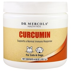 Dr. Mercola, Healthy Pets, Curcumin for Cats & Dogs, 4.30 oz (122.1 g)