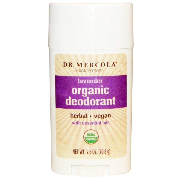 Dr、 Mercola, Organic Deodorant, Lavender, 2、5 oz (70、8 g)