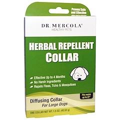 Dr. Mercola, Pflanzliches Ungezieferband, für große Hunde, ein Halsband, 42,52 g