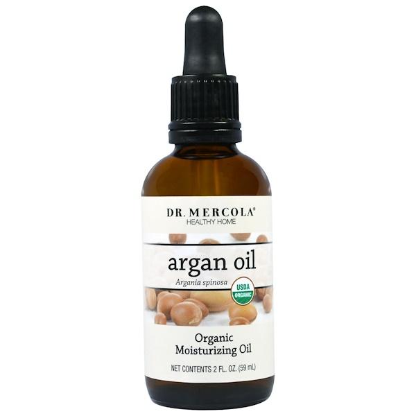 Dr. Mercola, Organic Argan Oil, 2 fl oz (59 ml) (Discontinued Item)