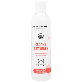 Dr. Mercola, Organic Cat Wash, 8 fl oz (236 ml)
