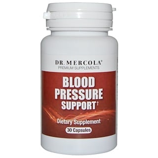 Dr. Mercola, Blood Pressure Support, 30 Capsules