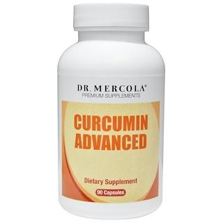 Dr. Mercola, Усовершенствованная формула куркумина, 90 капсул