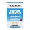 Dr. Mercola, コンプリート・プロバイオティクス・パウダー・パケット、ナチュラルラズベリー風味、30袋、0.12オンス(3.5g)
