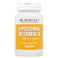 липосомальный витамин D, 1 000 МЕ, 30 капсул - фото