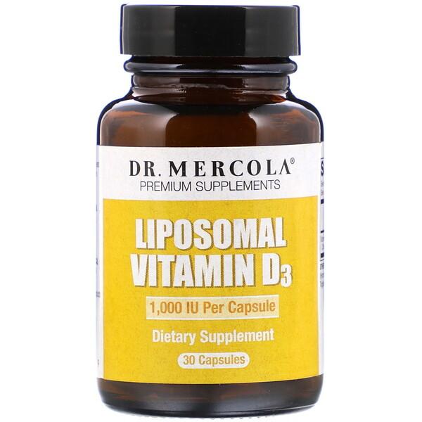 Liposomal Vitamin D3, 1,000 IU, 30 Capsules