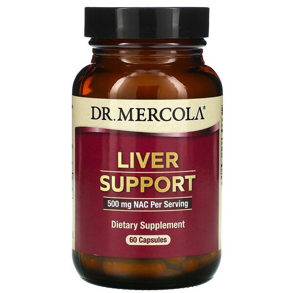 Dr. Mercola, Liver Support, 60 Capsules