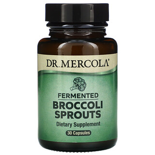 Dr. Mercola, Fermented Broccoli Sprouts, 30 Capsules