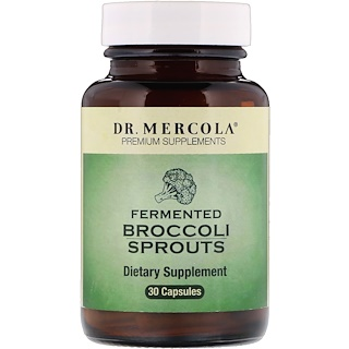 Dr. Mercola, Fermented Broccoli Sprouts, 30 Capsules