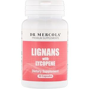 ДР. Меркола, Lignans with Lycopene, 30 Capsules отзывы