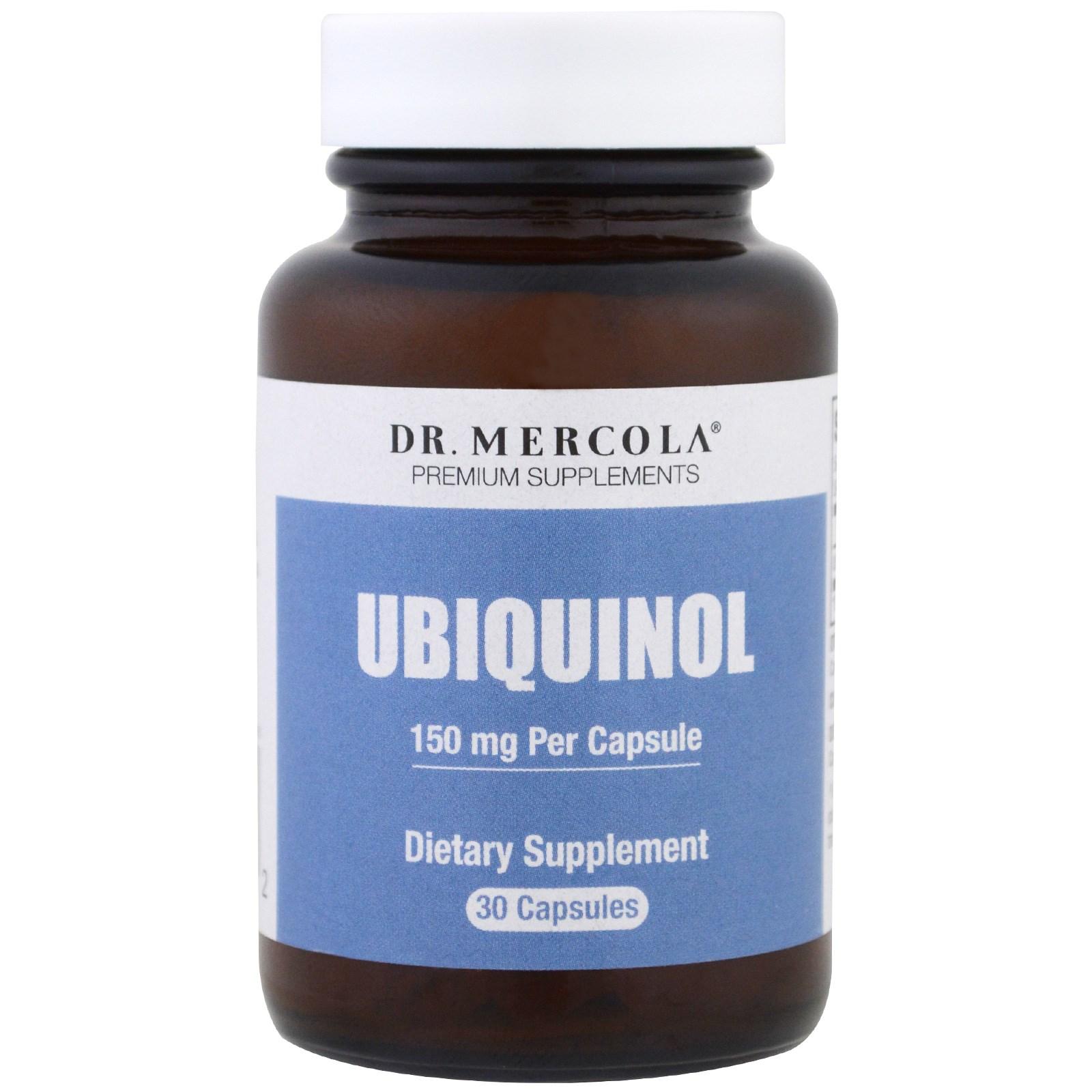 Dr. Mercola, Убихинол, 30 капсул