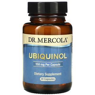 Dr. Mercola, Ubiquinol, 150mg, 30cápsulas