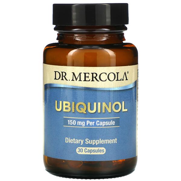 Ubiquinol, 150 mg, 30 Capsules