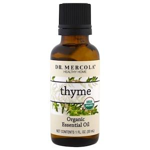 ДР. Меркола, Organic Essential Oil, Thyme, 1 oz (30 ml) отзывы