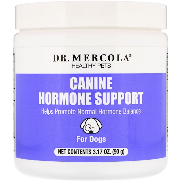 Dr. Mercola, Healthy Pets, Canine Hormone Support, For Dogs, 3.17 oz (90 g) (Discontinued Item)