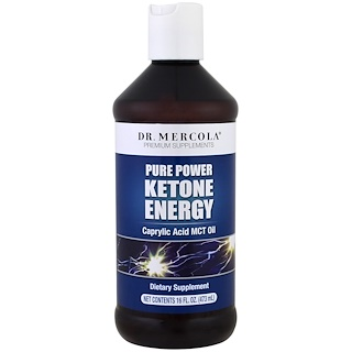 Dr. Mercola, Pure Power Ketone Energy, 16 oz (473 ml)