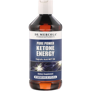 Dr. Mercola, طاقة الكيتون القوي التقية، 16 أوقية (473 مل)